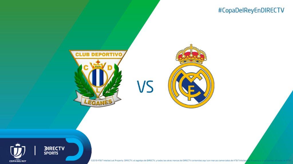 🏆🇪🇸 Real Madrid consiguió una buena ventaja en la ida ante Leganés: 3-0. ¿Cerrará la serie de visitante?  17:25hs por los C610/1610HD y DIRECTV Play http://link.dtvla.com/dbbe9d6f ¡Relata @FDVENE y comenta @Gustavo_che! #CopaDelReyEnDIRECTV
