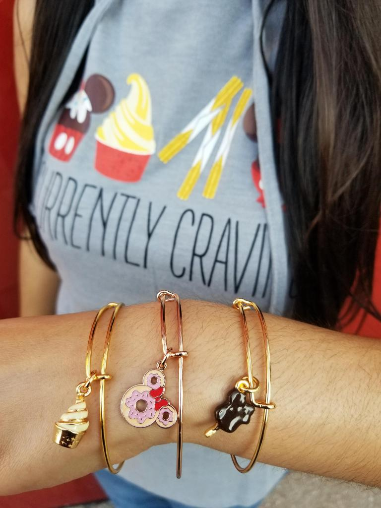 Get your #SnackLife on with these brand-new Disney foodie @alexandani bangles now available at DisneyStyle!  #ShopDisneySprings<br>http://pic.twitter.com/51tyNs3feq