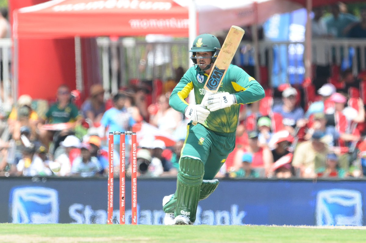 RT @OfficialCSA: ICYMI: De Kock and Steyn rested for first two ODI's https://t.co/MzzYVDDOSa #SAvPAK #ProteaFire https://t.co/LFL4F9jzIg