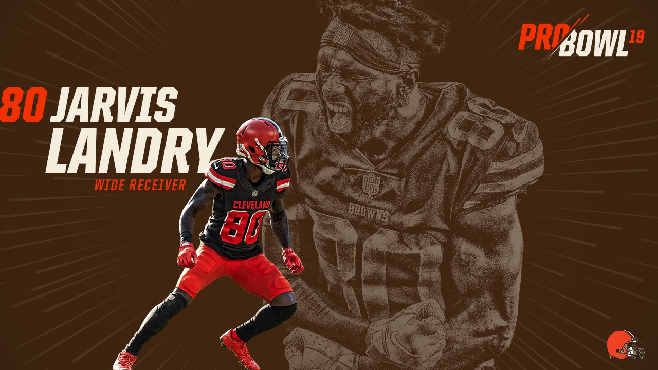 Jarvis Landry has been named to a 4th consecutive Pro Bowl!  �� » https://t.co/QszYPF7ND3 https://t.co/eOcx7jA4H8