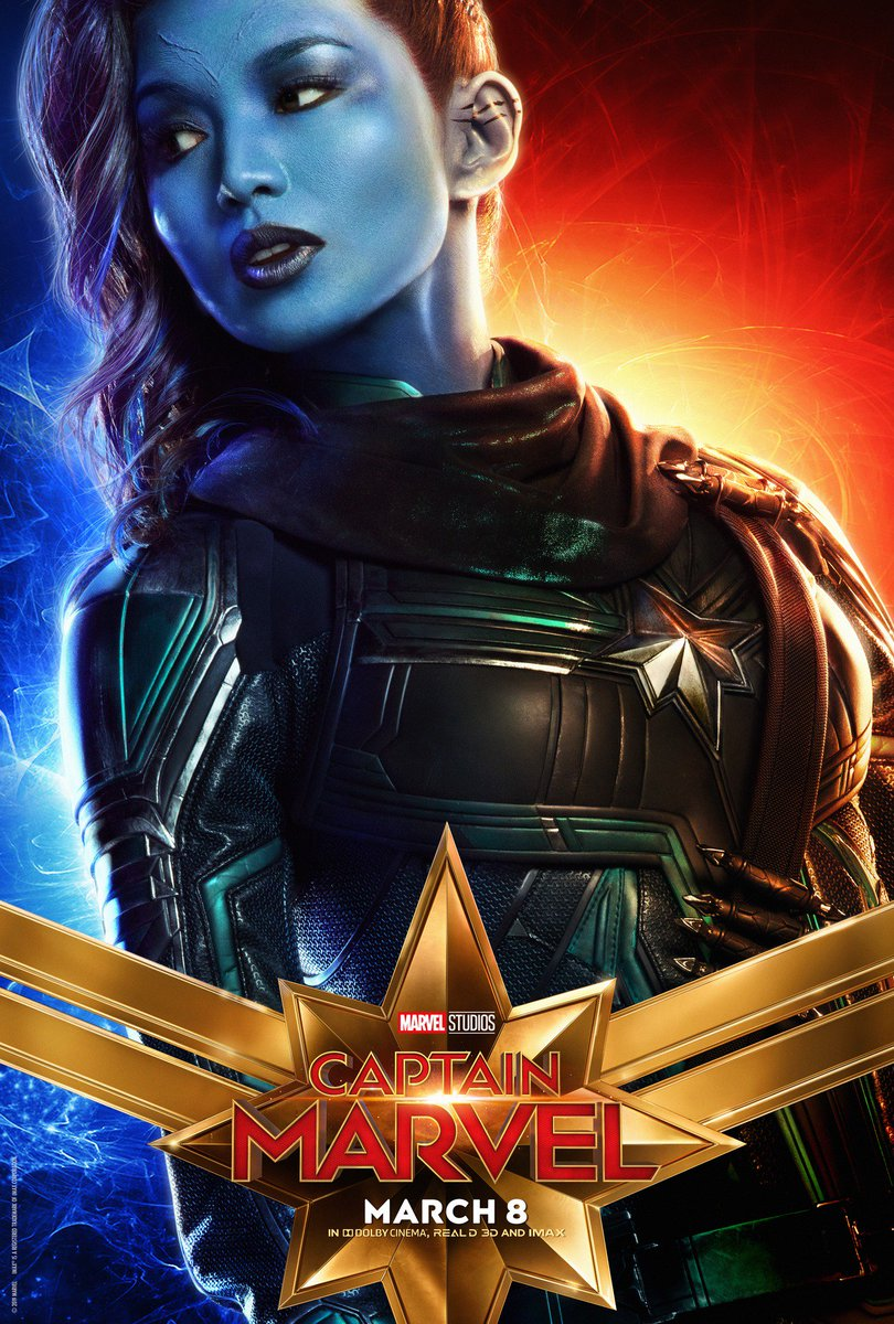"imdb on twitter: ""the latest #captainmarvel character posters are"