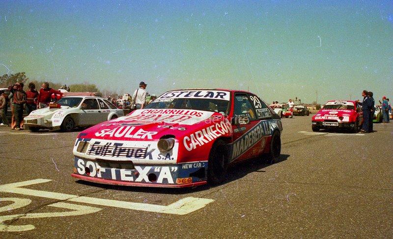 El 1ª campeon del TC-2000, Cocho Lopez en la cupe Fuego del Team Antelo @dcoronel @LopezCocho