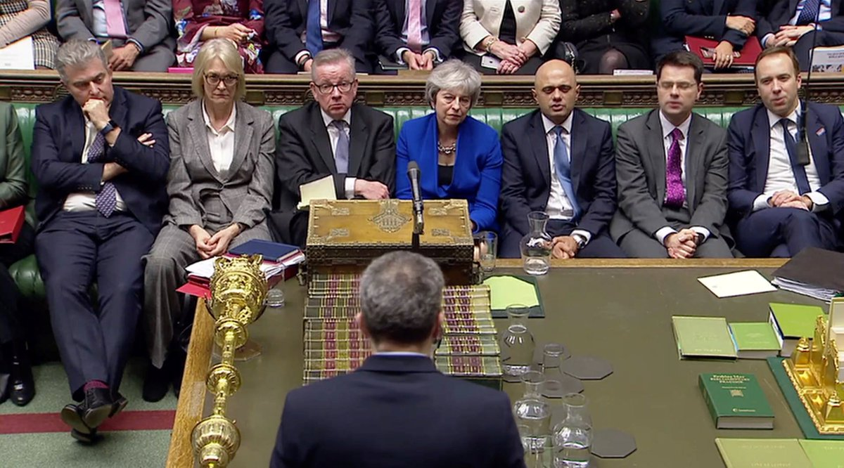#Breaking Theresa May's government wins no-confidence vote by 325 votes to 306  https://t.co/p7Jn5LdpRF