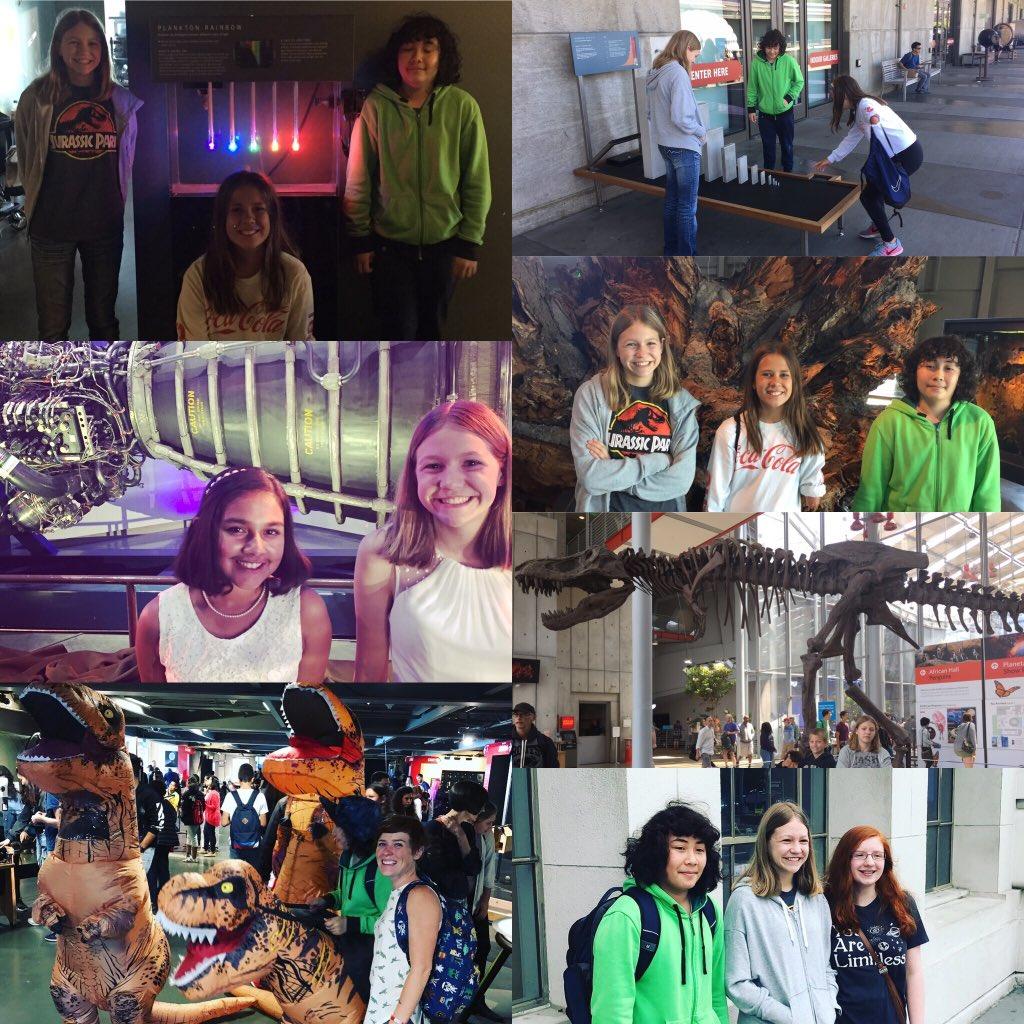 #MuseumSelfieDay Museums make the best place for summer meet ups! @exploratorium #CaliforniaAcademyOfSciences #CaliforniaScienceCenterpic.twitter.com/XYEGfFbB8Q