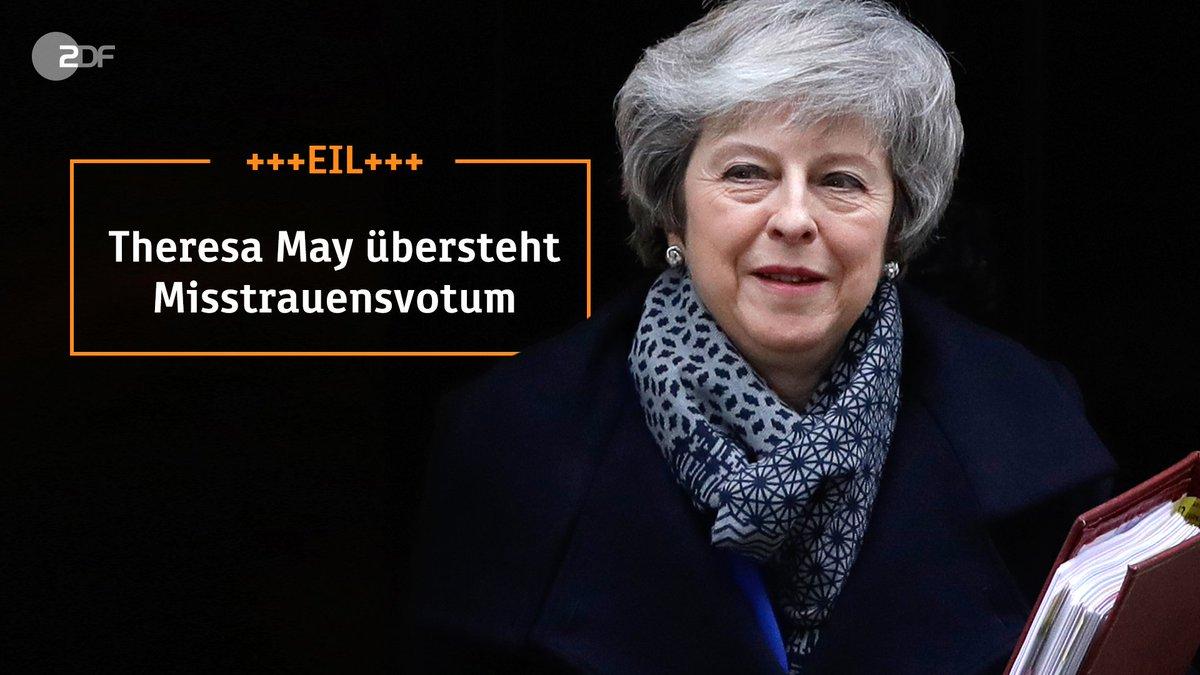 +++EIL: #May übersteht #Misstrauensvotum. Mehr Infos: https://t.co/kPr5TC1sCV