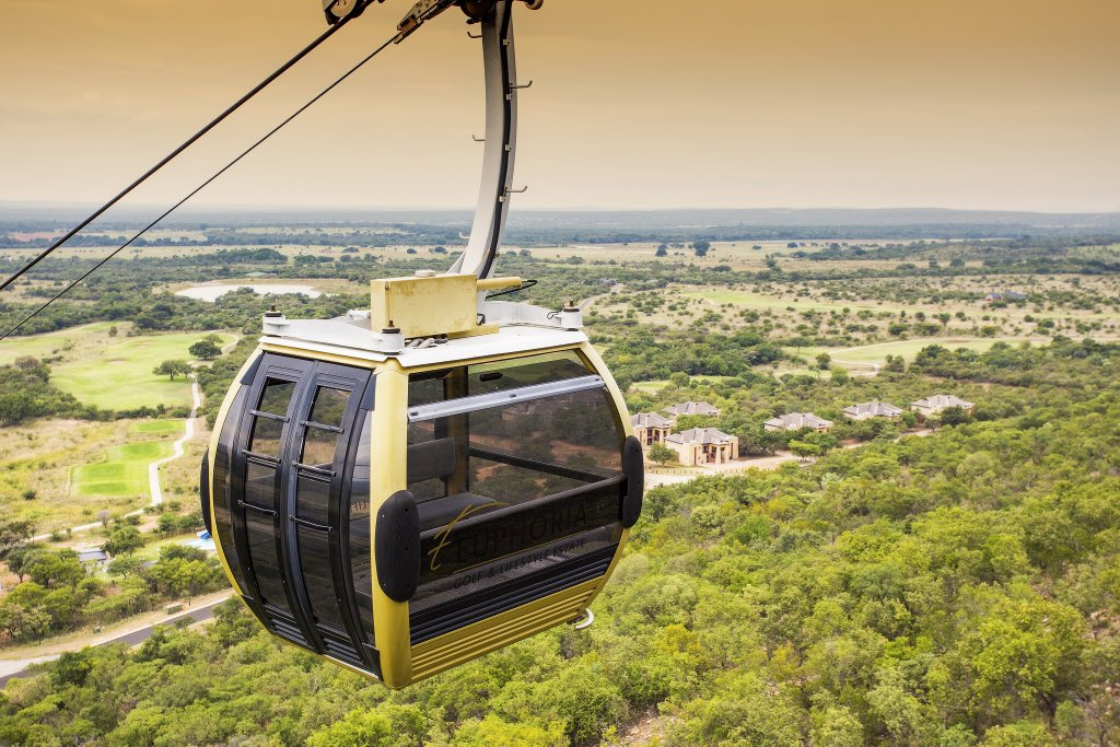 Black Owned: @EuphoriaGolfEst   Features:  Cable Car  luxurious accommodationa   Hydro Spa and Water Park  Golf Academy,  Hiking and Birding   conferencing and spectacular weddings.  It is in Limpopo.  @BafedileMa should be congratulated! Well done<br>http://pic.twitter.com/YrvxV2TzTz