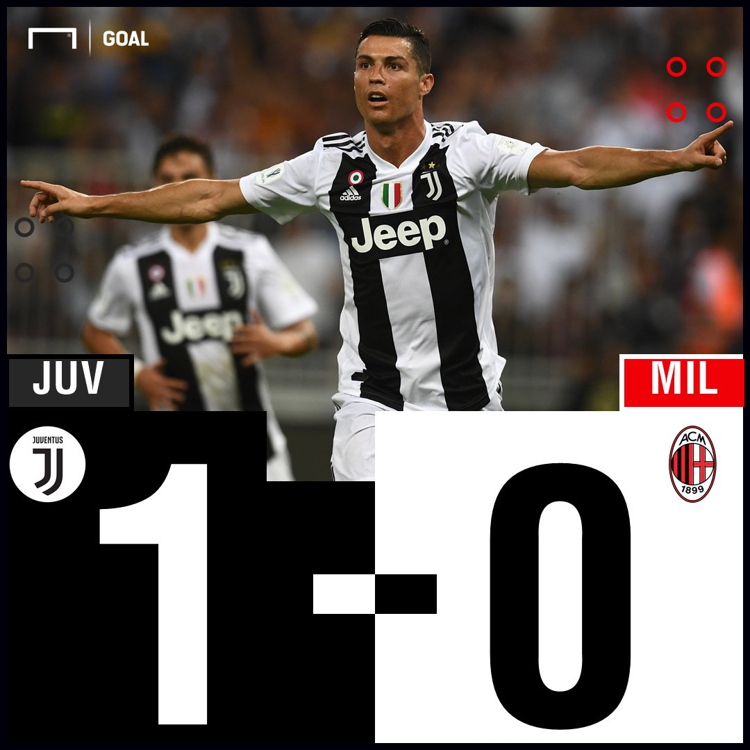 GAME OVER! Juventus have beaten Milan to win the Supercoppa Italiana #JuveMilan #Supercoppa