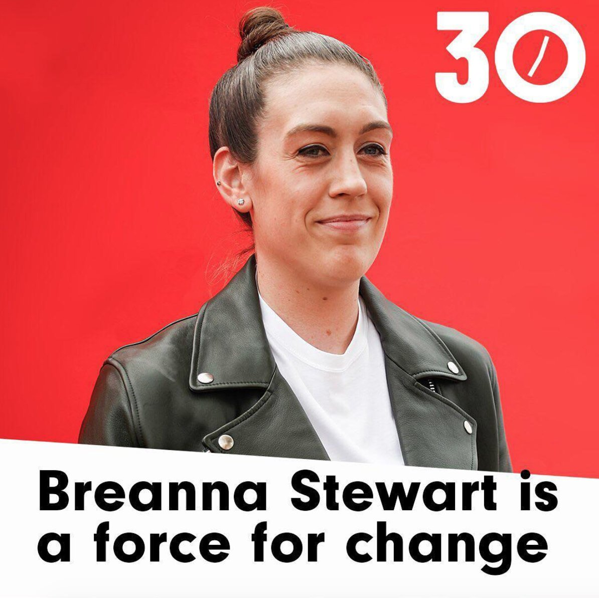 .@breannastewart is one of ONE37pm&#39;s 30 Most Entrepreneurial Athletes   the @WNBA star is also investor, entrepreneur and advocate who&#39;s partnered with @RAINN to create a signature t-shirt and raise money for survivors of sexual violence. #30MEA<br>http://pic.twitter.com/KSsd5Mm8yT