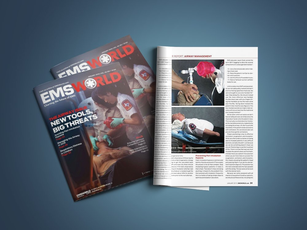O-Two SMART BAG® MO in the January edition of EMS World. otwo.com/o-two-smart-ba…