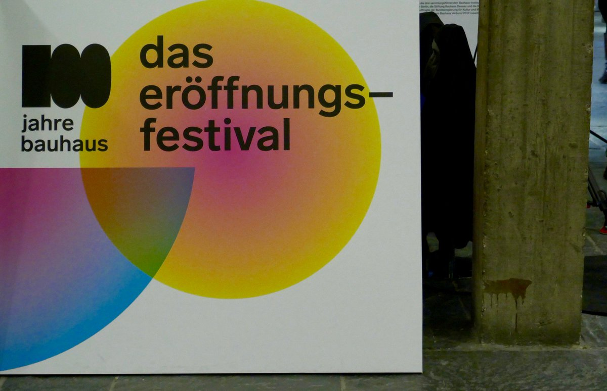 The opening festival '100 Years Bauhaus' is just one of hundreds of events planned in Germany throughout the year.  Discover more about  #bauhaus100 here: https://t.co/E8cR7b0CEZ