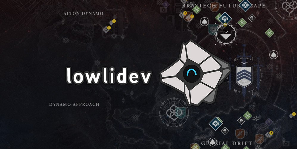 This week we shine our Community Focus spotlight on @lowlines, his maps project and other API-based creations including http://Braytech.org .  💠 https://www.bungie.net/en/Explore/Detail/News/47578 …