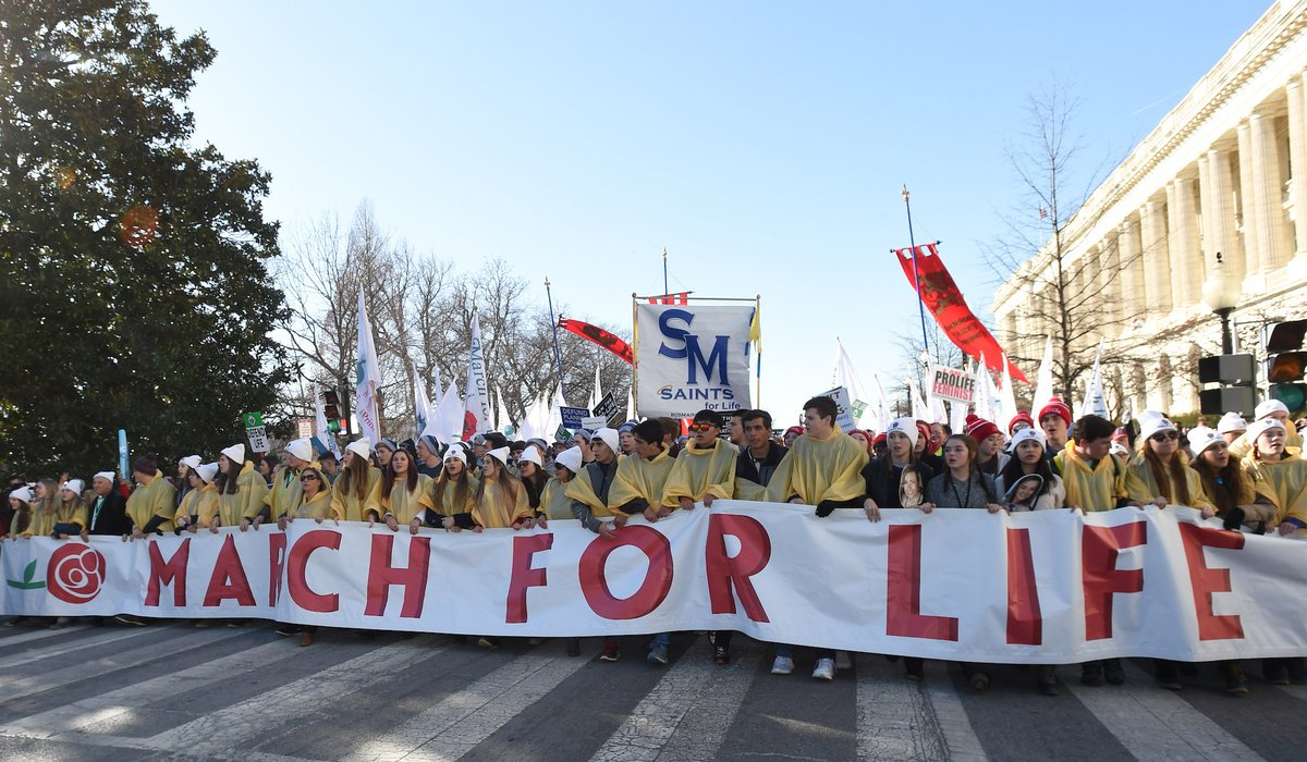 The Catholic University of America Introduces a New Policy This Year: Classes Cancelled During #MarchForLife https://communications.catholic.edu/news/2019/01/march-for-life-classes.html…