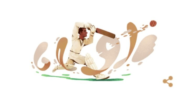 Abdul Hafeez Kardar's 94th Birthday #GoogleDoodle  #AbdulHafeezKardar was an international cricketer, who is one of the only three players to have played Test cricket for both #India 🇮🇳 & 🇵🇰 #Pakistan, the other two being Amir Elahi & Gul Mohammad. https://g.co/doodle/w7q8ju