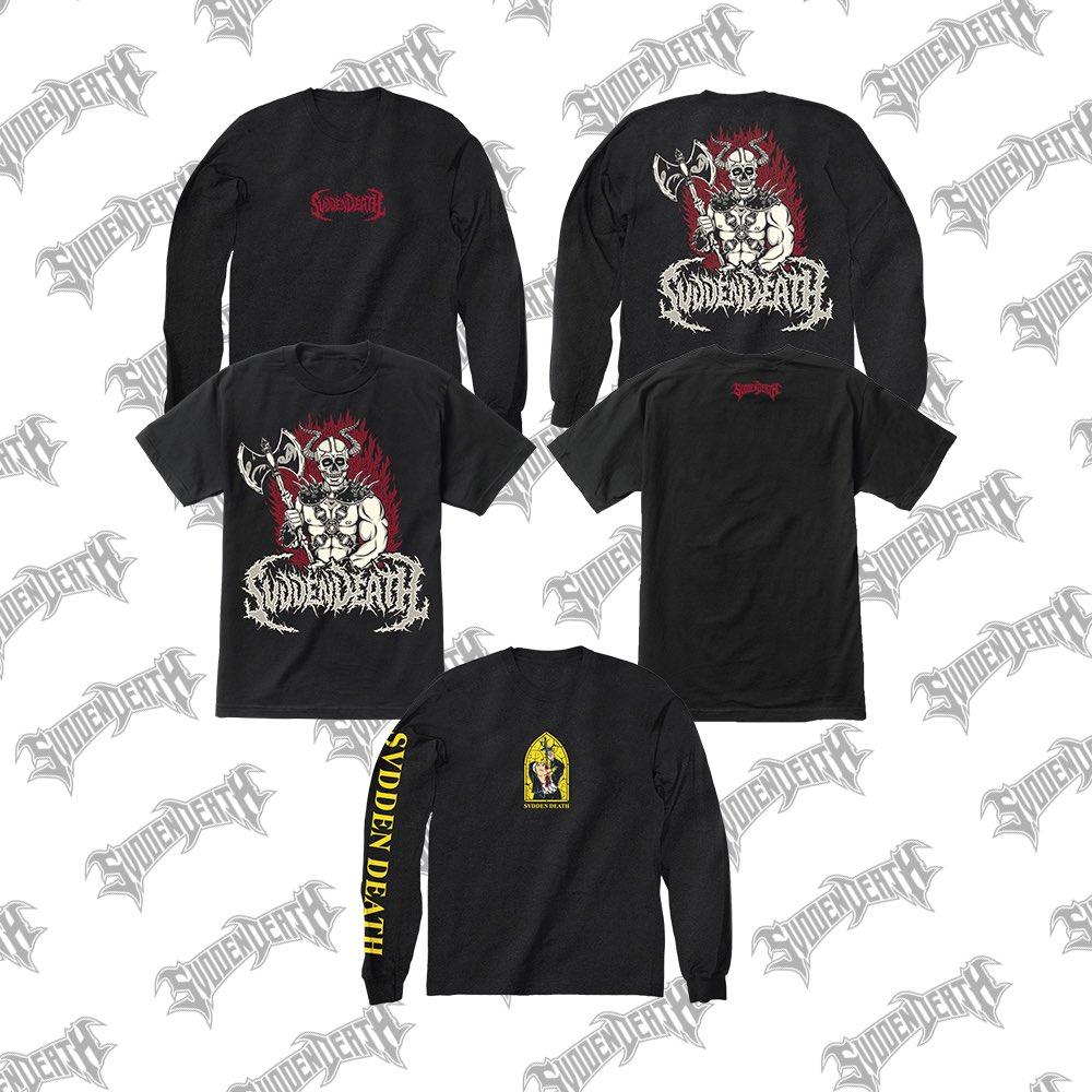 NEW LONG SLEEVES AVAILABLE NOW AT SVDDENDEATH.COM 💫