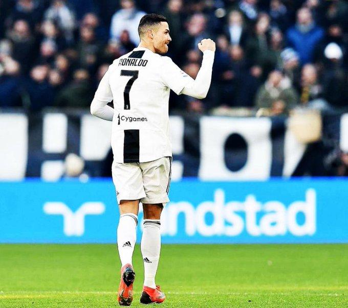 ¿Primer partido por la definición de un título con la camiseta de la Juventus de Turín? GOL. No importa ni el país ni la competición, Cristiano Ronaldo SIEMPRE se las arregla para marcar diferencia. MONSTRUO. Foto