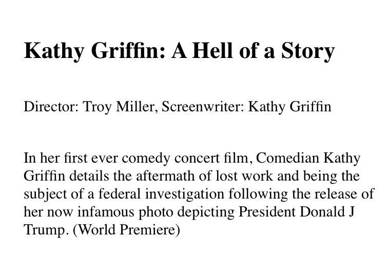 Kathy Griffin's photo on griffin