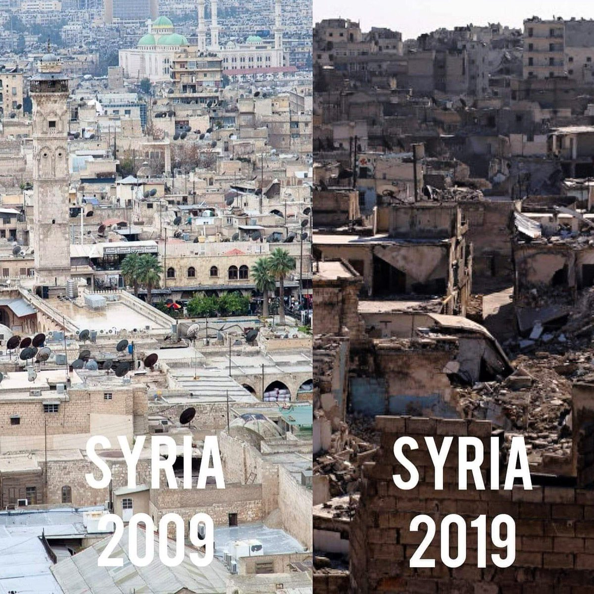 Syria's #10YearChallenge 💔