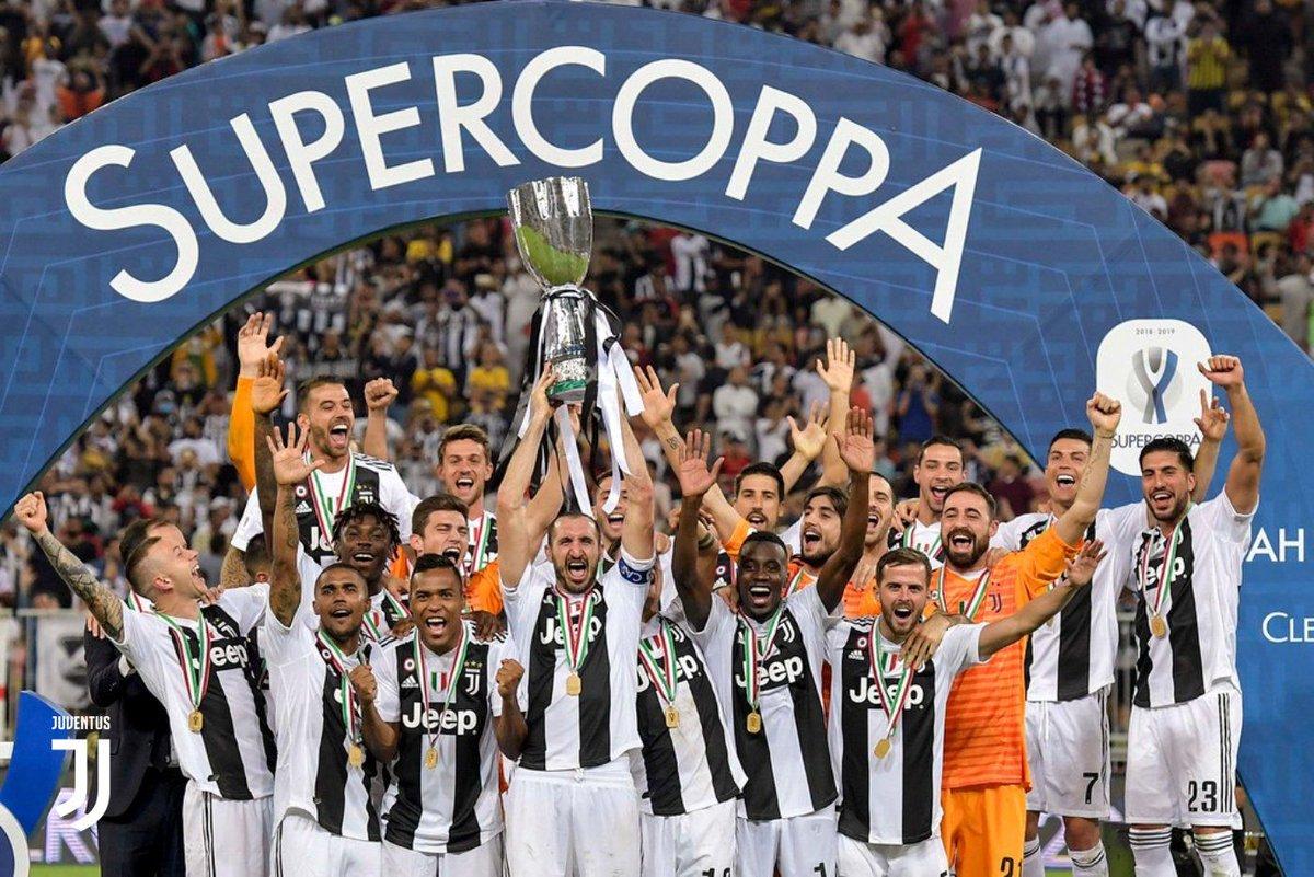 #Supercoppa Juventus 1 (Ronaldo 61') 0 Milan