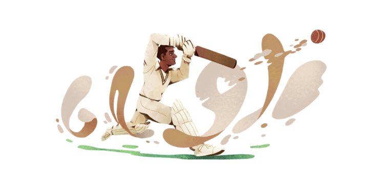 Today&#39;s Google Doodle in Pakistan celebrates the birthday of Abdul Hafeez Kardar, affectionately known as &#39;The Skipper&#39; and only one of three players ever to have played for both India and Pakistan! #GoogleDoodle  http:// google.com/doodles/abdul-  &nbsp;  …<br>http://pic.twitter.com/cl35CbohN8