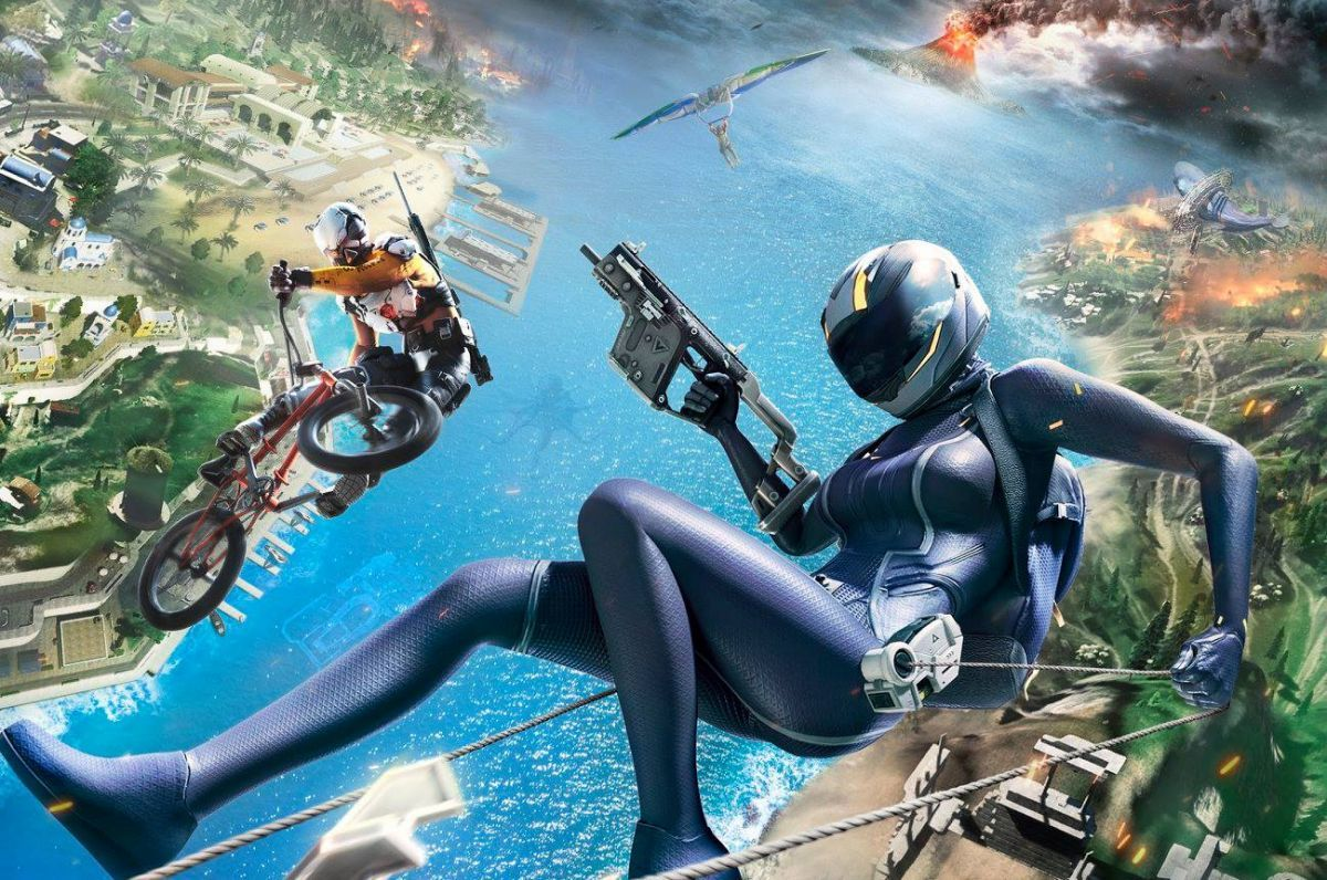 Ring of Elysium's new season begins with a volcanic island map, submarines, and BMX bikes buff.ly/2VQUz8G