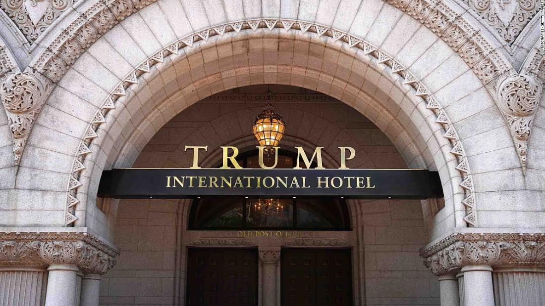 NEW: The General Services Administration ignored constitutional issues raised by President Trump's interest in the DC Trump International Hotel, report says https://t.co/pZ8Yd7EcWZ