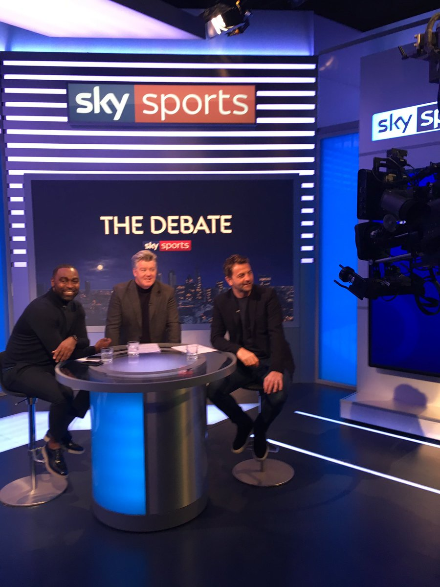 Looking forward to The Debate with Tim Sherwood @vancole9. Talking Bielsa, @Arsenal, @GNev2, Ole GS, @NUFC and the art of tackling. @SkySportsPL 10 pm.