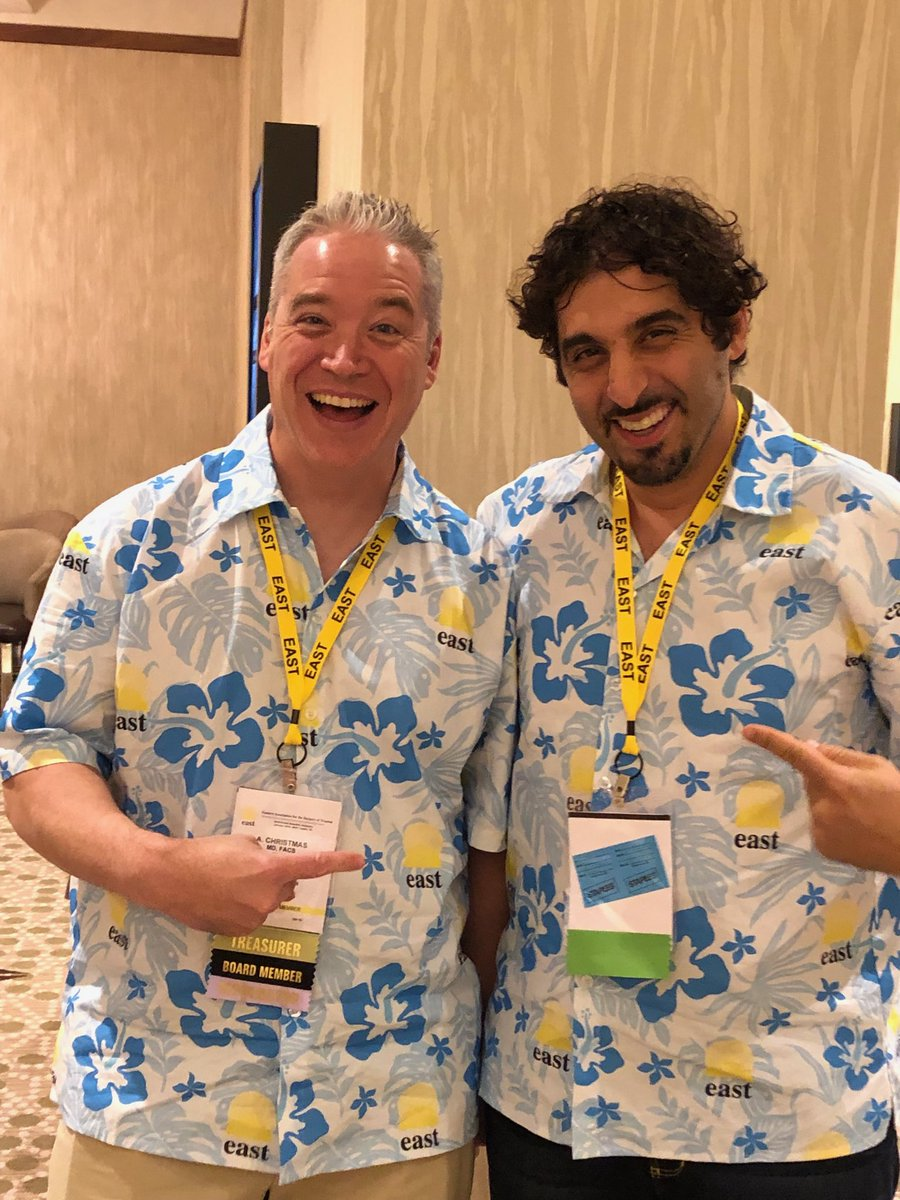 'Da boys rocking @EAST_TRAUMA #east2019.  Donate to the foundation and hang with the in crowd ....<br>http://pic.twitter.com/7CvDGtv8ta