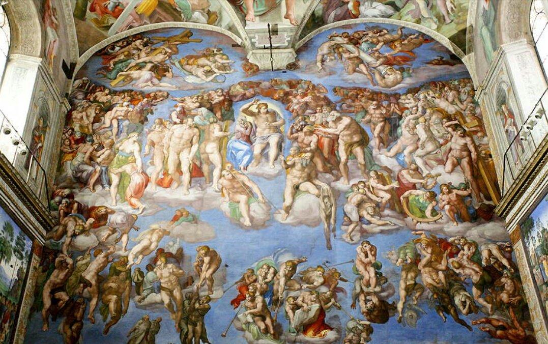 сикстинская капелла фото фресок боттичелли особом