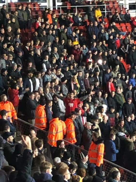 Not all Southampton fans are Southampton fans  #nffc <br>http://pic.twitter.com/C2yaMcHafS