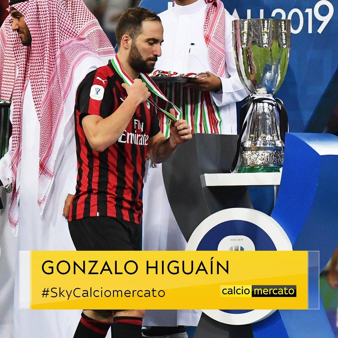 ⚠ #UltimOra #Calciomercato ✅ Intesa di massima tra #Juventus e #Chelsea per #Higuain 😮 Prestito di 6 mesi più 12 a determinate condizioni #SkyCalciomercato #SkySport