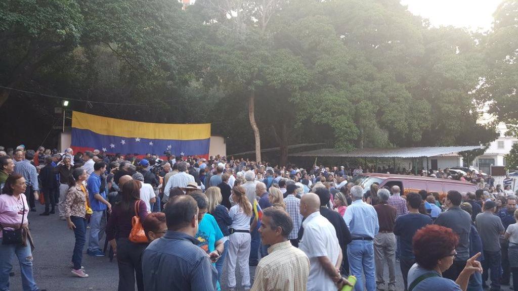 Así se preparan en Santa Rosa de Lima, para Cabildo Abierto.