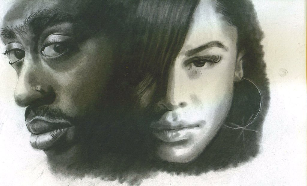 Happy birthday, Aaliyah! I drew this when I was 16