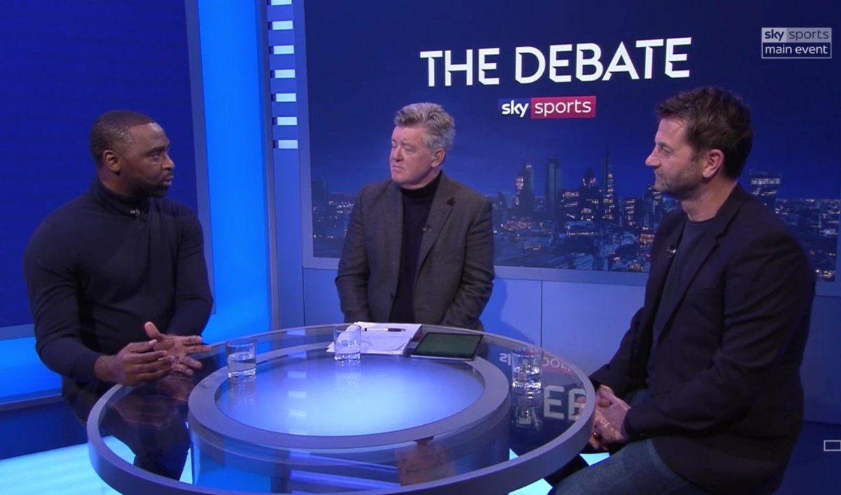 Decent night on @SkySportsPL with @GeoffShreeves & Tim.. hope you all enjoyed it! 💪🏾⚽️ #TheDebate