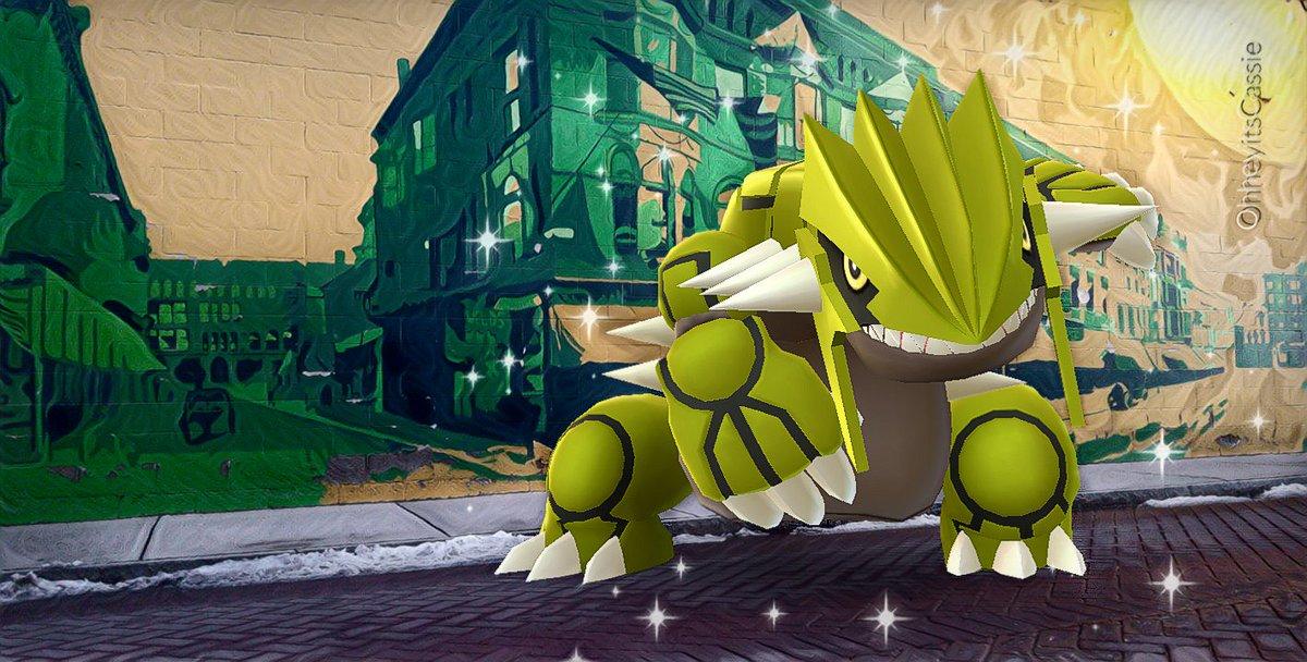 Me: Say cheese, Groudon!  Groudon:  #PokemomGOAR #ShinyGroudon #Groudon #PokemonGO <br>http://pic.twitter.com/LaMG4ZCDwd