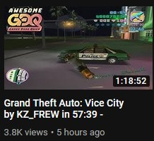 The memelords at GDQ made this the VC run thumbnail, omfg <br>http://pic.twitter.com/JG4FLODbIt