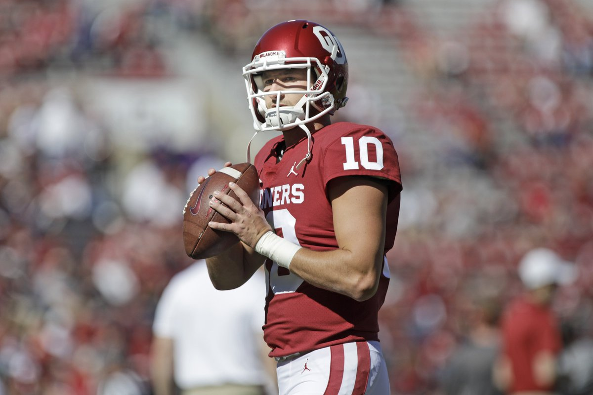 Oklahoma will grant QB Austin Kendall a waiver to be immediately eligible at West Virginia, per @GeorgeSchroeder