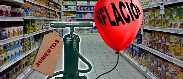 """En un año, el """"techo"""" de la inflación se convirtió en un """"piso"""" https://goo.gl/k5BouV"""
