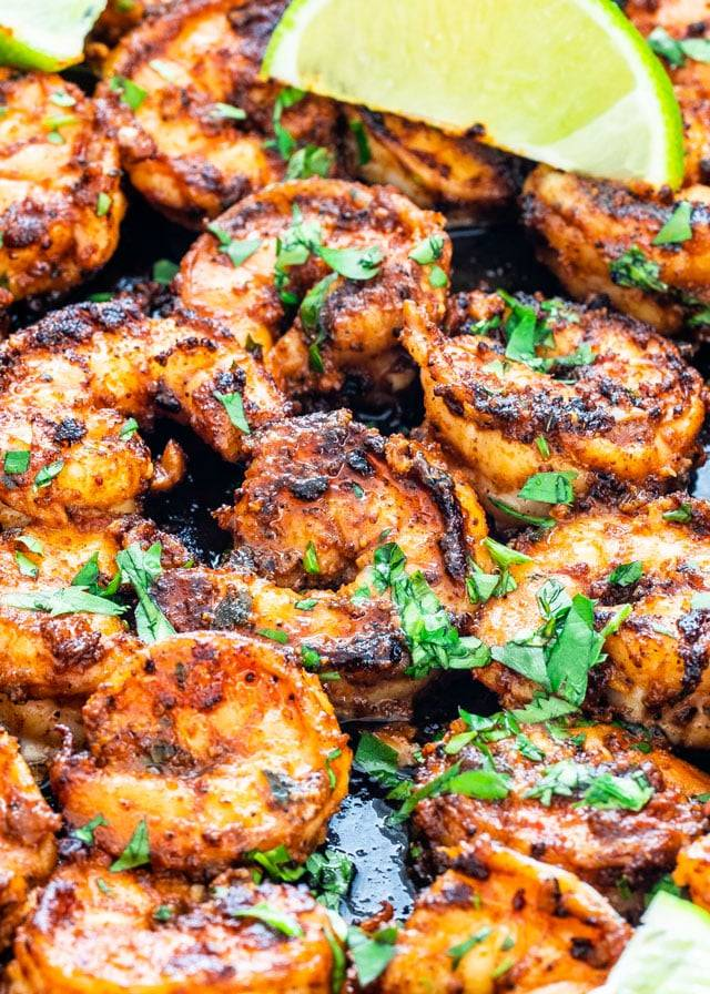 These #delicious blackened #shrimp are the perfect versatile and fast #weeknight #meal! Try them in #tacos, #lettuce #wraps, on #pasta, #Rice, or simply on their own! #food #recipes  https://www. jocooks.com/recipes/blacke ned-shrimp/ &nbsp; … <br>http://pic.twitter.com/BuiOZz7DxK