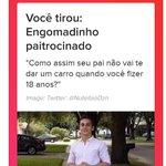 Tirei Engomadinho Twitter Photo