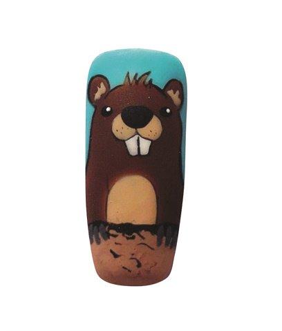 """Groundhog Day Nail Art Tutorial https://www.nailsmag.com/demoarticle/124073/groundhog-day-nail-art-tutorial?utm_source=dlvr.it&utm_medium=twitter… """