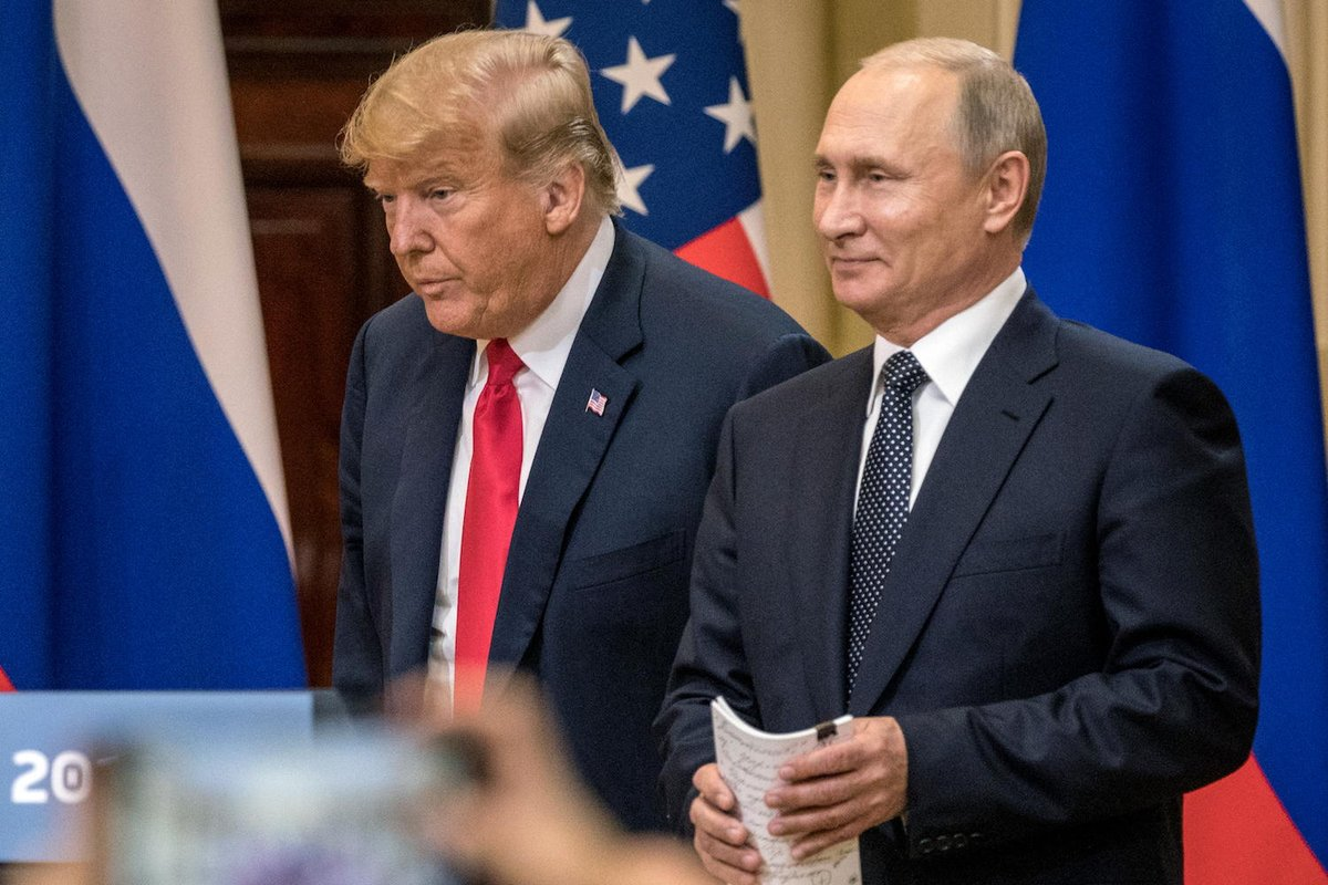 Future Russian Presidents will rightly speak of Vladimir Putin with awe. He turned an entire American political party into his errand boys. GOP votes down sanctions. https://t.co/R7FzwaAtr5