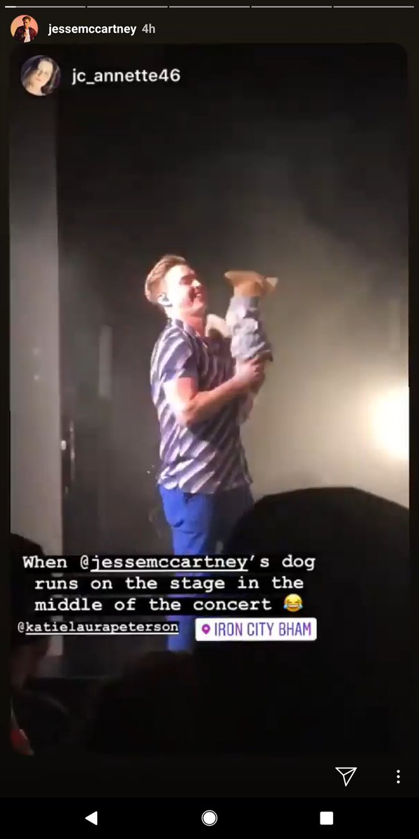 @Jc_annette46 I watched Jesse McCartney's Instagram story and see this!! Ah Jacie!! This is your video!