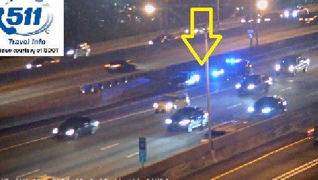 Fulton Co: Crash. I-85/nb at GA400(Exit 87). Right lane blocked. Delays.  https://t.co/N52KLd61yS  #ATLTraffic
