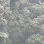 噴火発生 Twitter Photo