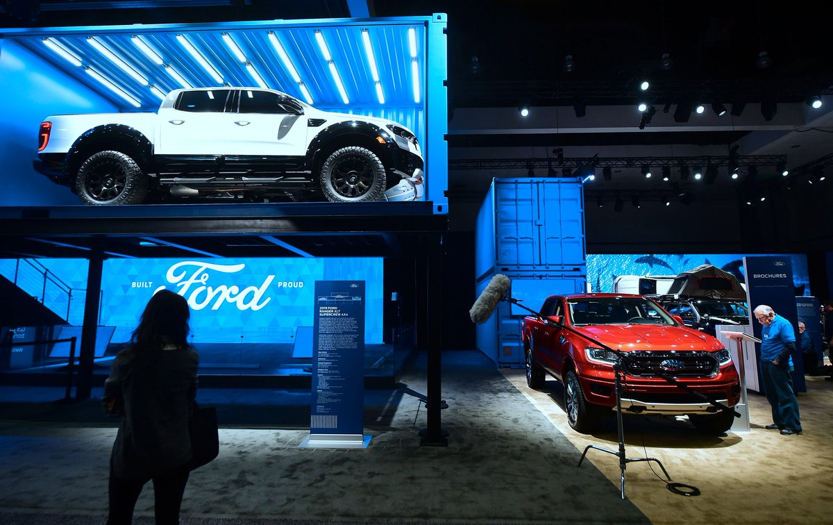 Ford is expected to show a decline from a year earlier when it releases its fourth-quarter earnings next week. While the company remains solidly profitable in North America, it is losing or barely making money in the rest of the world. https://nyti.ms/2FFJT74