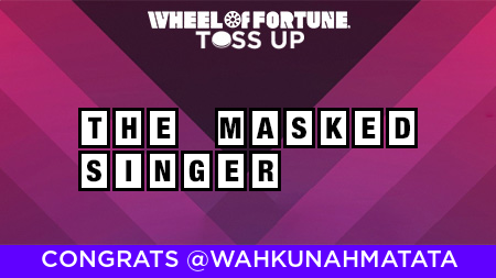 Wheel of Fortune's photo on #WheelOfFortune
