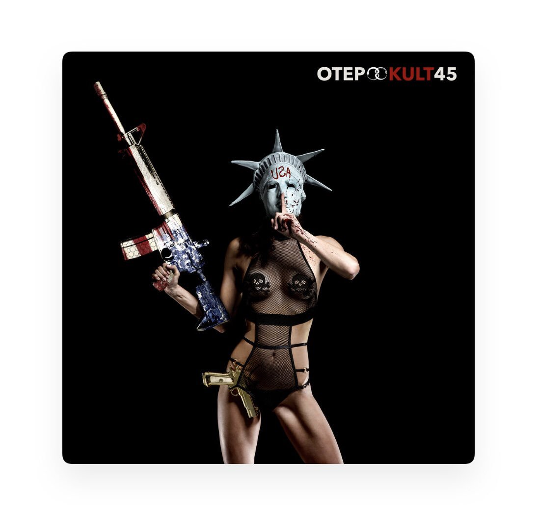 "Last Year - That Was Just 3 Weeks Ago, Right? - @otepofficial Released The Album ""Kult 45"". Hip Hop On A Different Level. I'll Bet You Can't Just Listen Once. . .#newhiphop #newmusic #sharemusic #metalmusic #rockmusic"