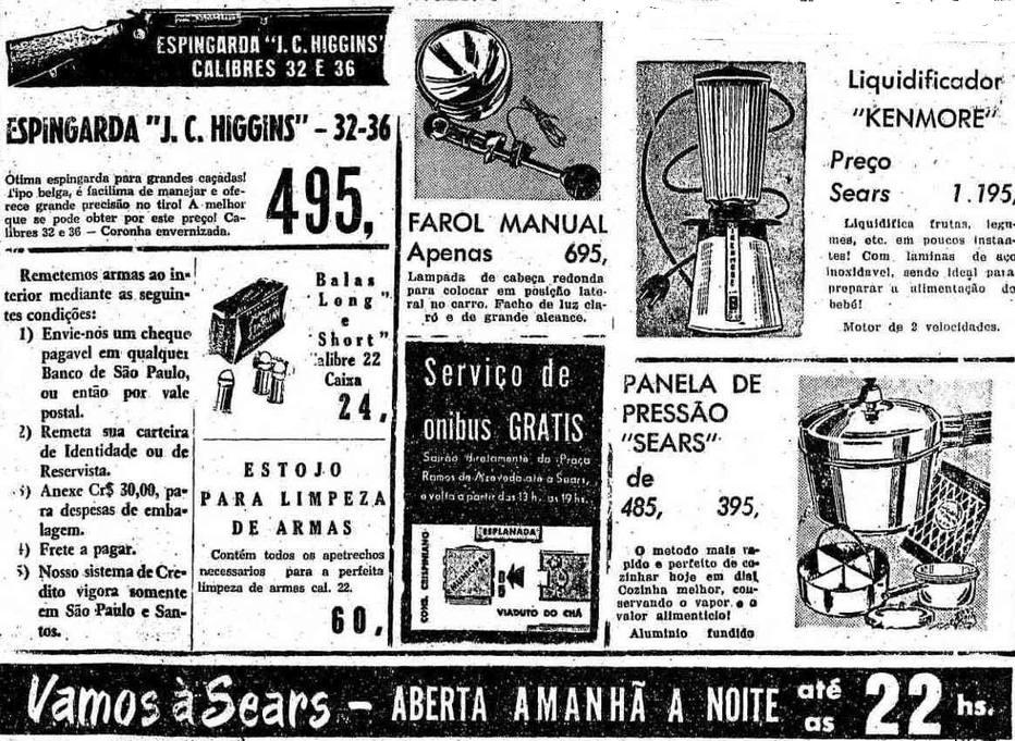 Espingarda e liquidificador já dividiram página de anúncios; relembre no @EstadaoAcervo https://t.co/gX3mvesbRI