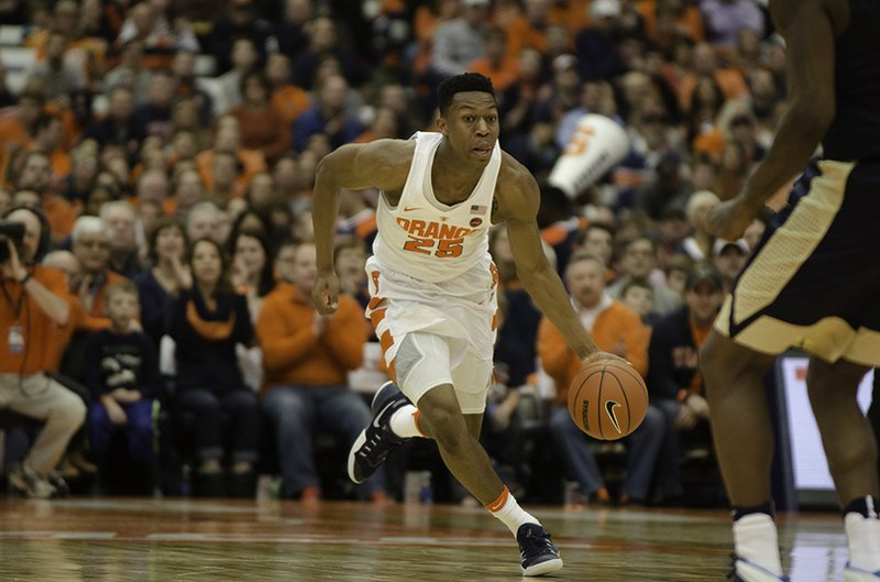 By developing weak hand, Tyus Battle hopes to boost draft stock