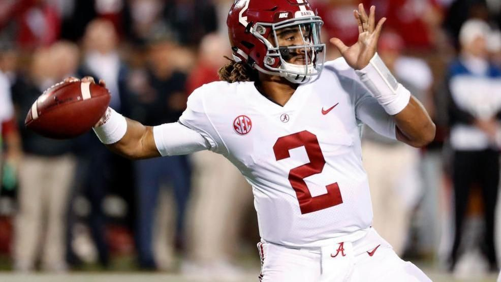 5f43e94fc Jalen Hurts has exited the transfer portal and arrived in Oklahoma ...